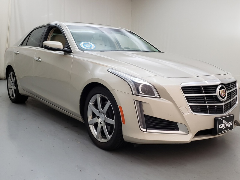 Pre-Owned 2014 Cadillac CTS 2.0L Luxury AWD