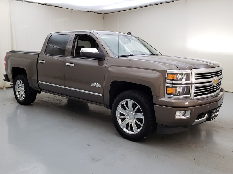 Exceptional Pre Owned 2014 Chevrolet Silverado High Country 4WD 1500