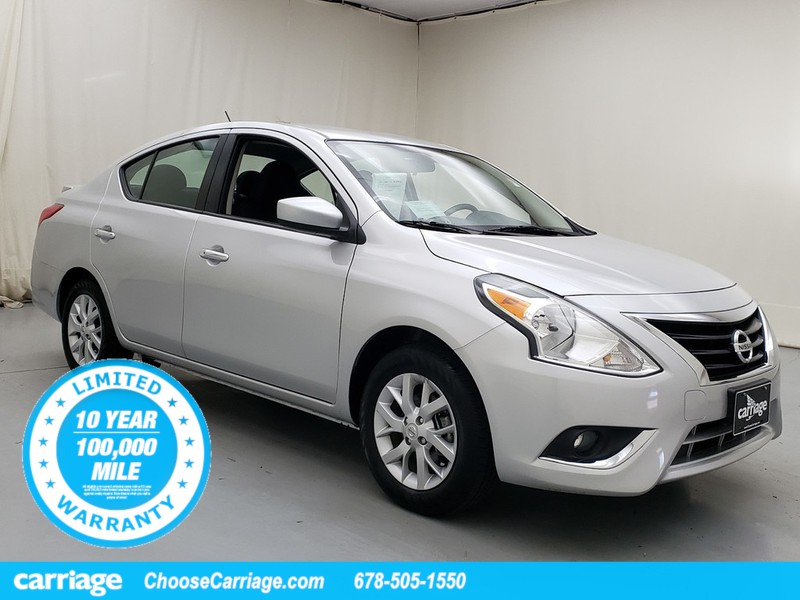 Pre-Owned 2019 Nissan Versa SV