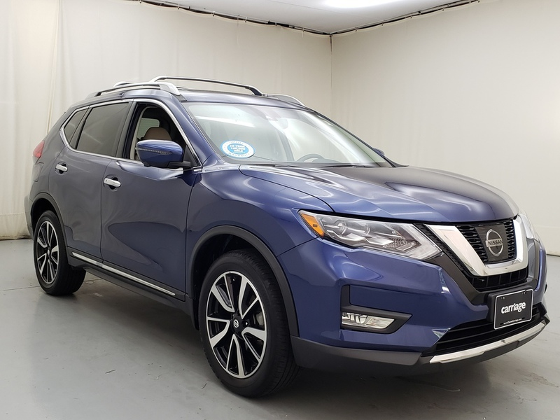 Pre-Owned 2017 Nissan Rogue 2017.5 SL AWD