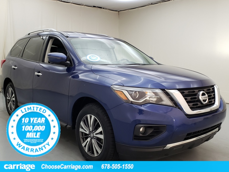 Pre-Owned 2018 Nissan Pathfinder SL FWD