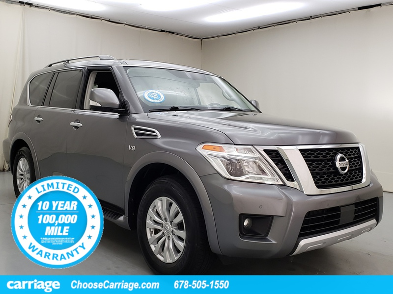 Pre-Owned 2018 Nissan Armada SV 2WD