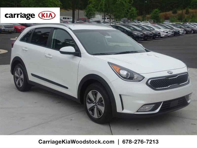 new 2017 kia niro lx fwd 4 dr suv in woodstock w00354 carriage kia of woodstock. Black Bedroom Furniture Sets. Home Design Ideas