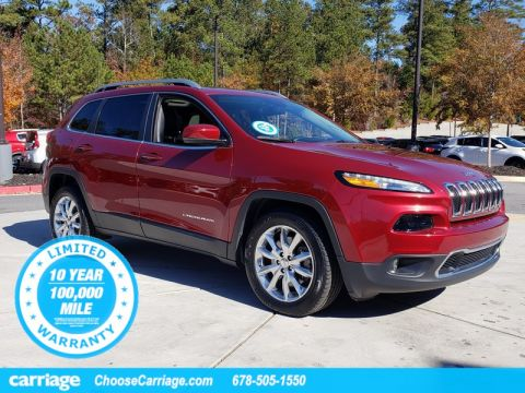 Pre-Owned 2017 Jeep Cherokee Limited FWD