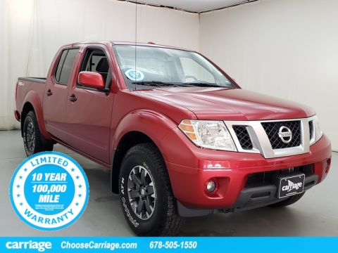 Pre-Owned 2018 Nissan Frontier PRO-4X 4WD