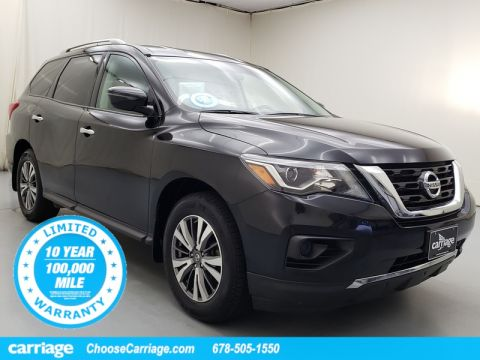 Pre-Owned 2017 Nissan Pathfinder S 4WD